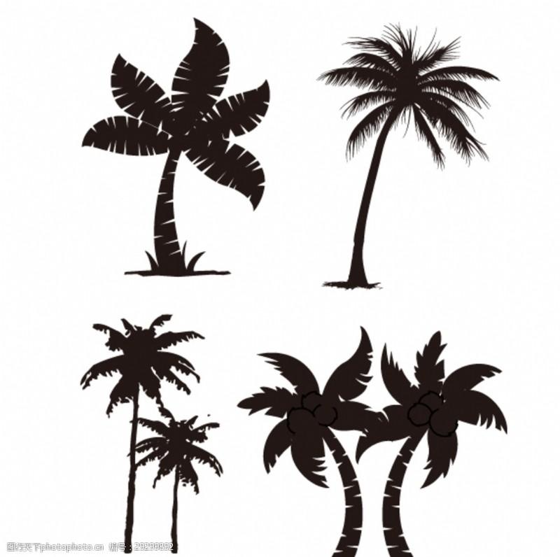 多样椰子树图片素材电子电源设计类题目大赛图片