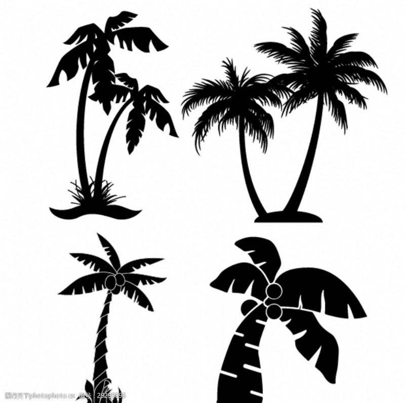 多样椰子树图片素材流溪河山庄设计图图片
