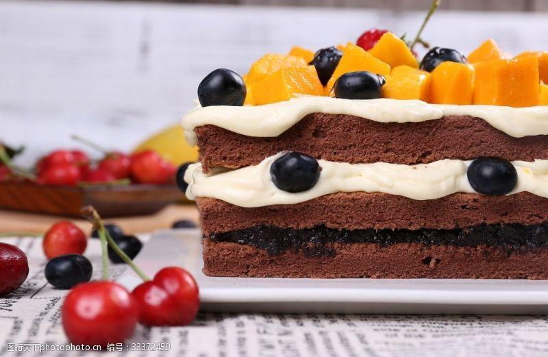 下午茶巧克力蛋糕