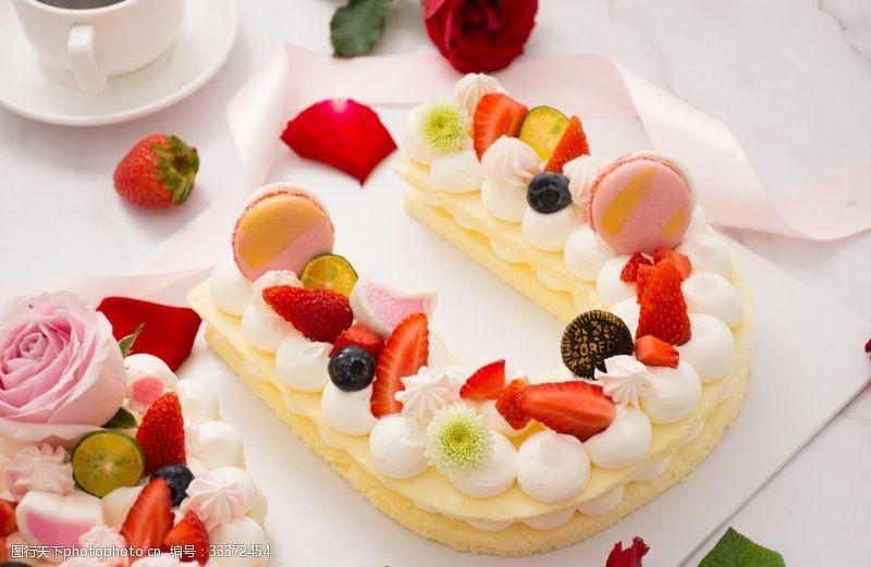 下午茶愛的生日蛋糕