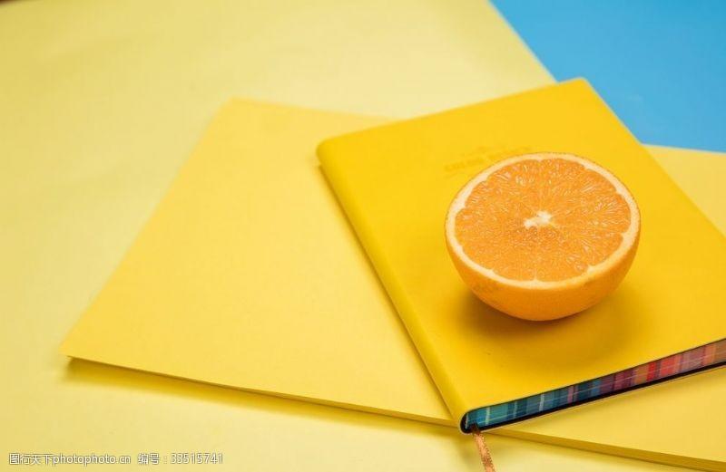 水果檸檬背景