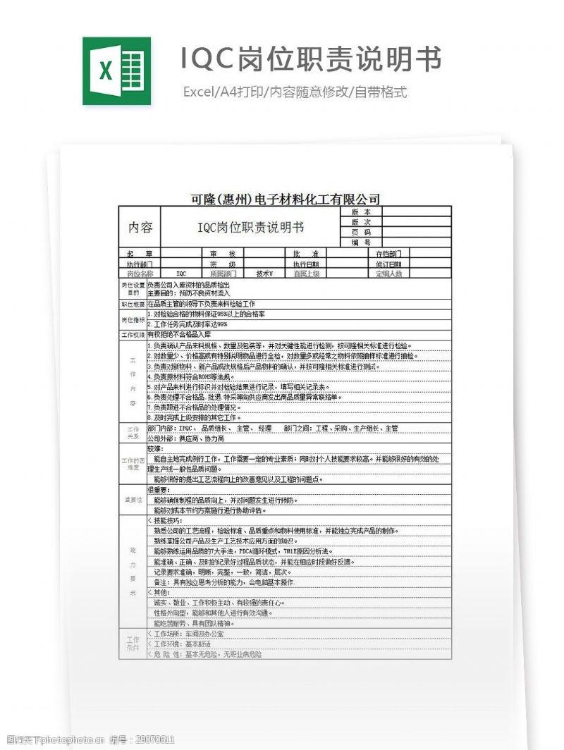 生产看板模板_iqc图片免费下载_iqc素材_iqc模板-图行天下素材网