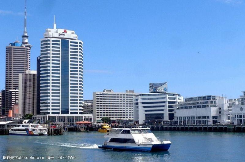 奥克兰港码头风光设计