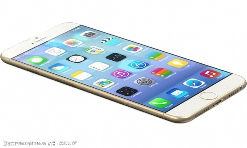 手机图片素材苹果手机6手机俯视图免抠png透明素材