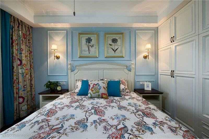 花纹效果欧式装修花纹卧室效果图