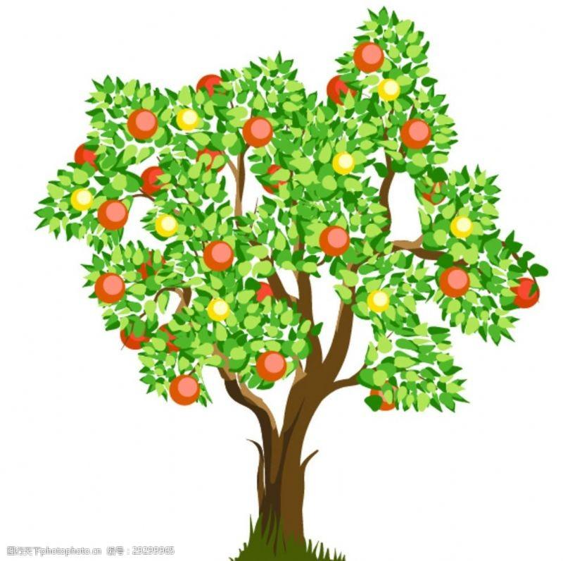 卡通树表情卡通树