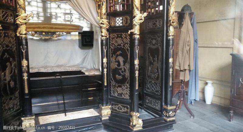 刘文彩的卧室