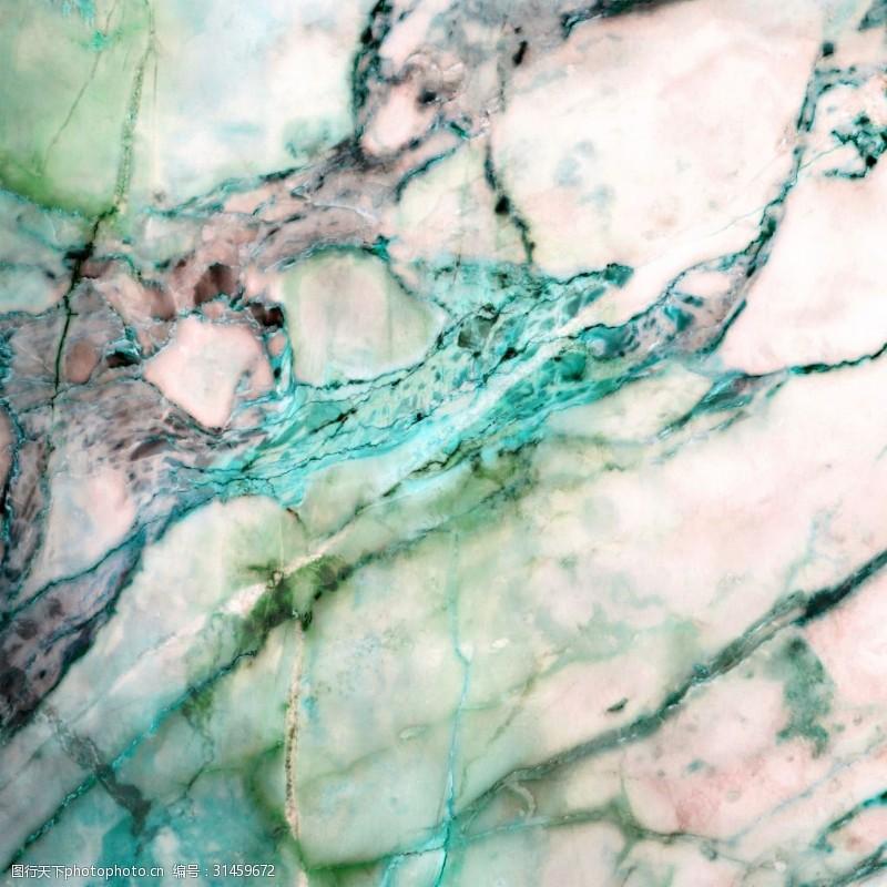 高清绿色大理石纹理贴图
