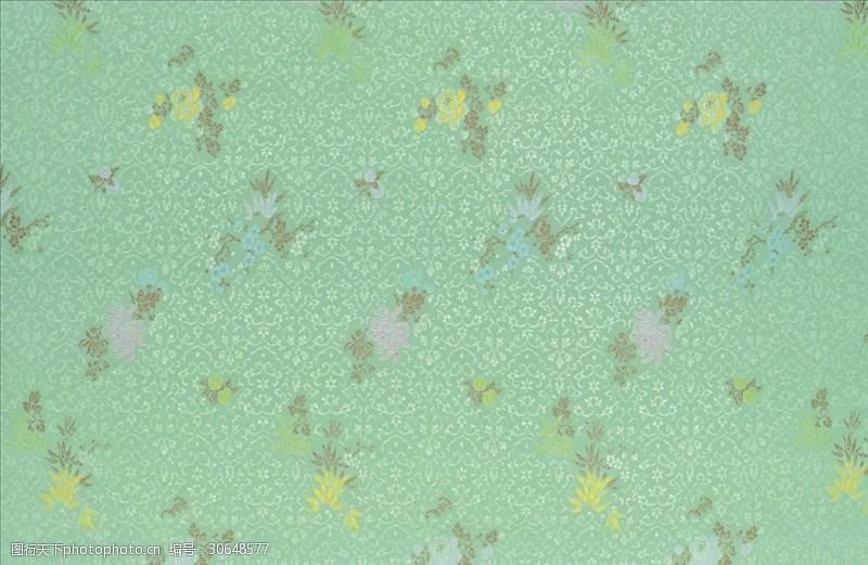 矢量图案共享花草背景