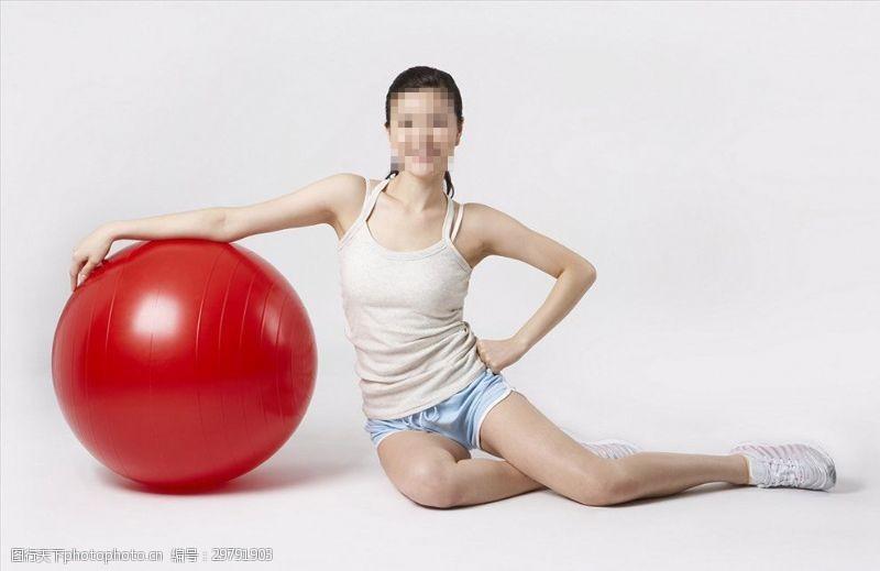 性感好身材健身美女瑜伽美女瑜伽