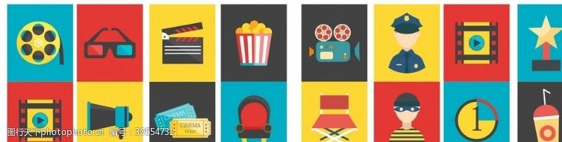 电影元素海报