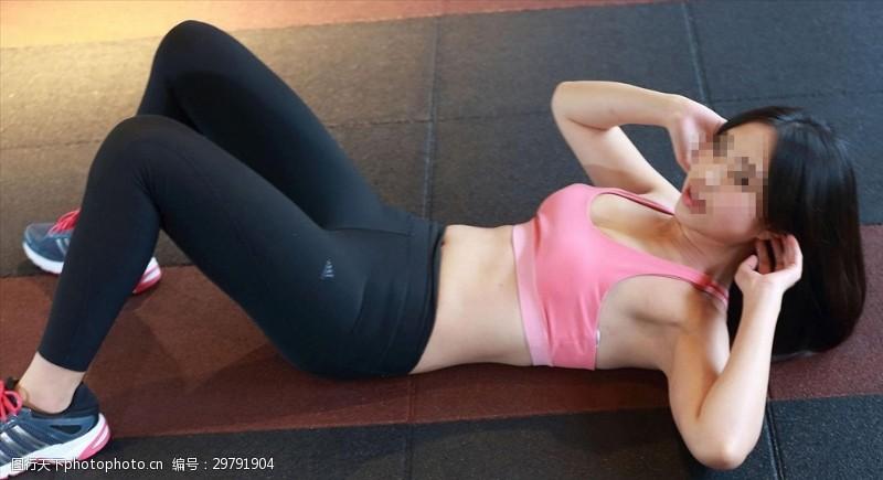 性感好身材健身美女
