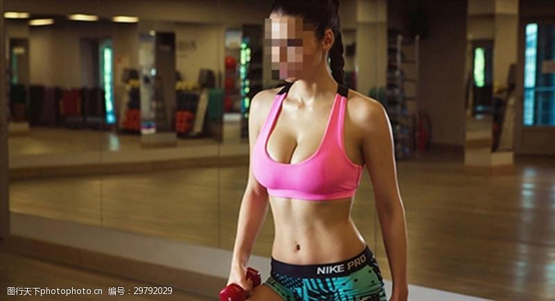 好身材展示健身美女
