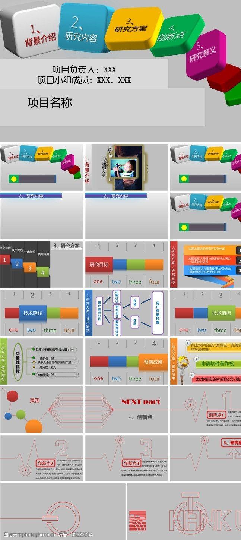 ppt模版设计软件项目介绍