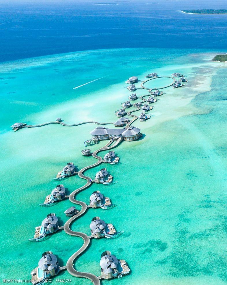 马尔代夫海景夏威夷群岛马尔代夫