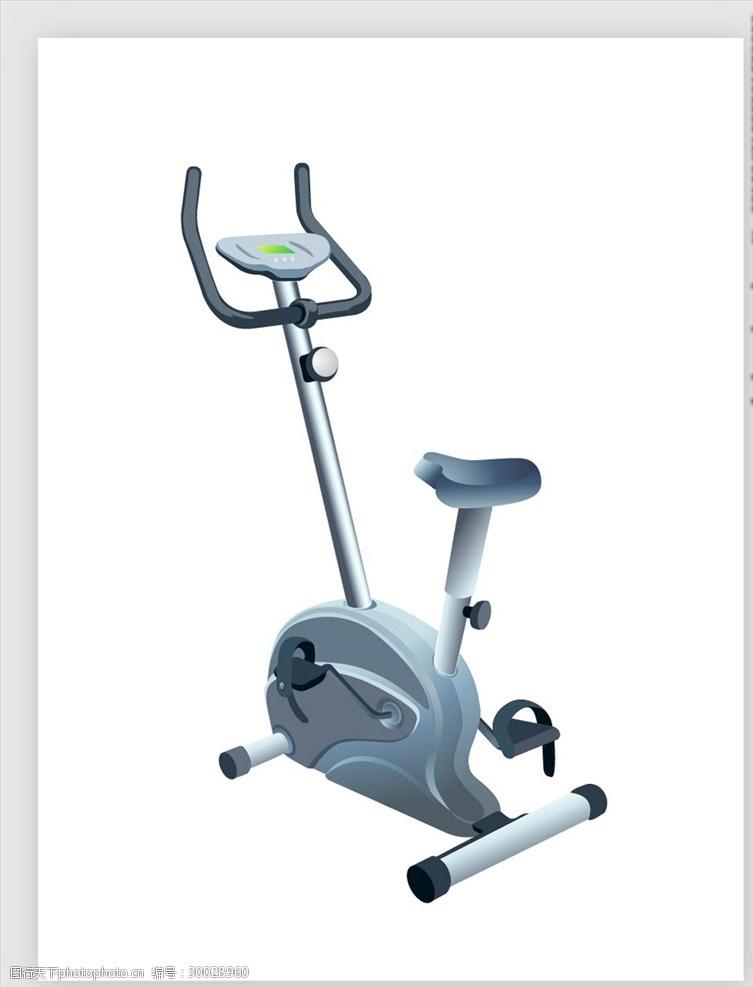 健身房器材海报