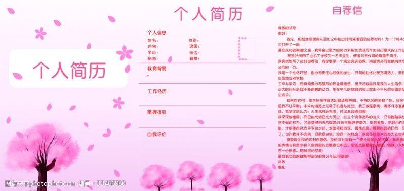 樱花广告个人简历