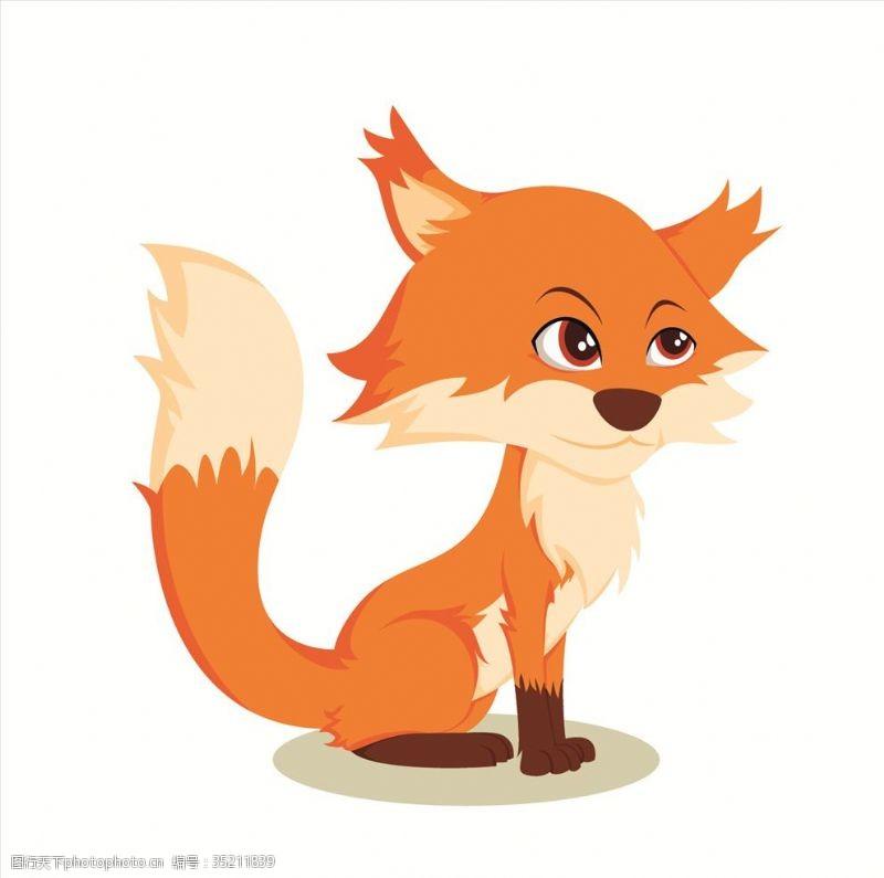 动漫玩偶狐狸