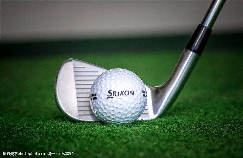 商务人物科技运动高尔夫球