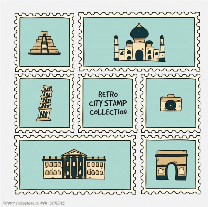 中国风邮票邮票
