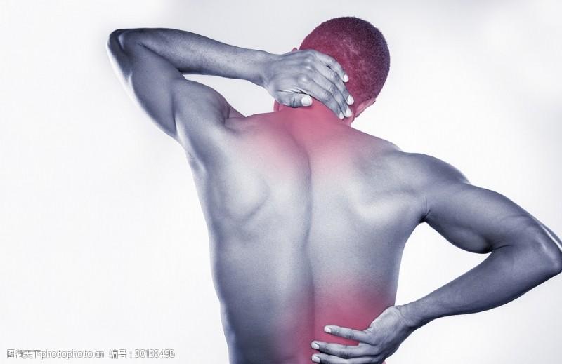 人体器官图关节疼痛的人高清