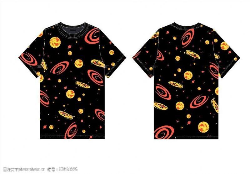 女装设计星空宇宙卫衣