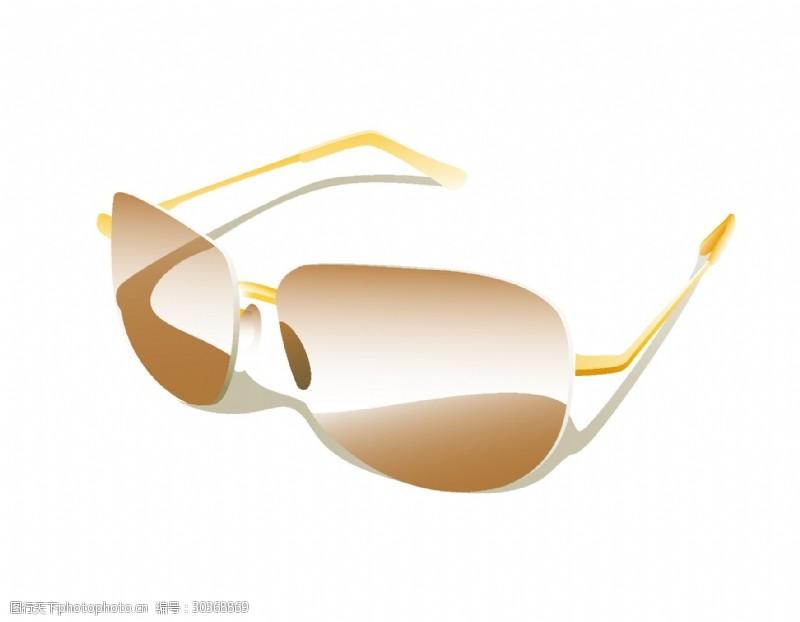 夏季时尚太阳眼镜矢量图