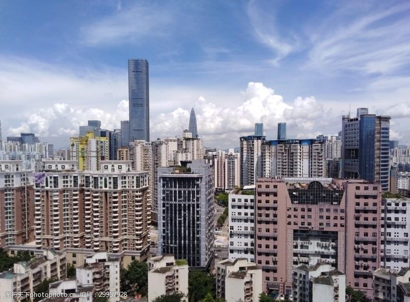 高建筑城市都市建筑大厦深圳