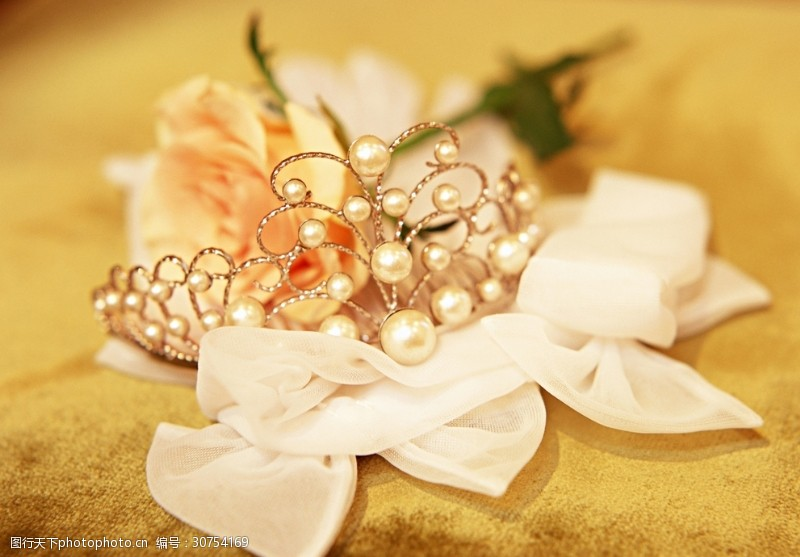 成束花婚礼花卉