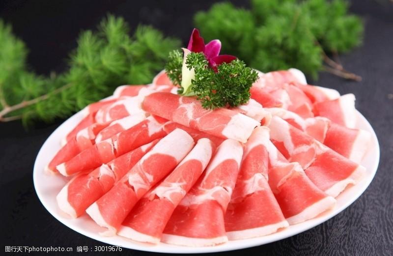 火锅涮肉爽口嫩肉精品肥牛