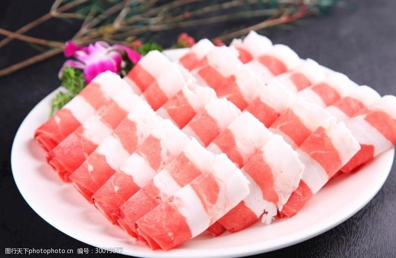 火锅涮肉爽口嫩肉精品羊肉